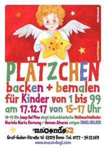 Flyer Plätzchen backen + bemalen am 17.12.2017 (c) Bernd Hagemann