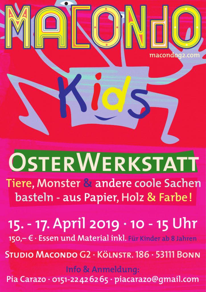 """Osterwerkstatt 2019 macondoG"""""""