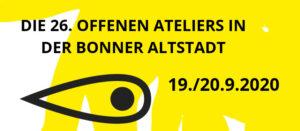 Ankündigung Offene Ateliers Bonner Altadt 2020